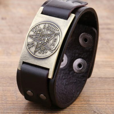 Pentagram Wrist Band Amulet